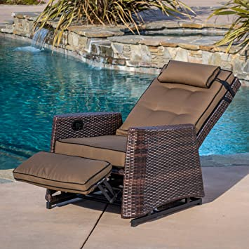 Amazon Com Westwood Outdoor Glider Recliner Chair Lazy Boy