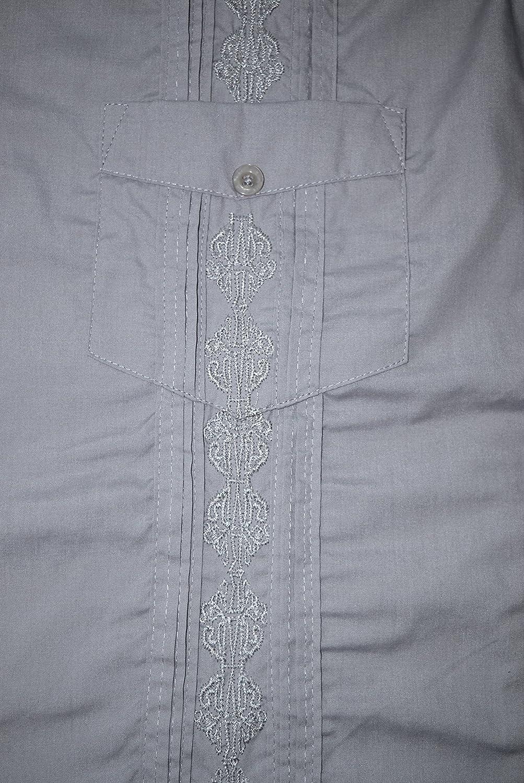 LAD Guayabera Shirts Mens Short Sleeve Cuban Shirt Guayaberas Camisas Para Hombre at Amazon Mens Clothing store: