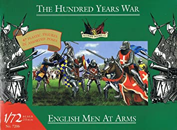 Accurate Figures Co 7206 English Men At Arms - The Hundred Years War