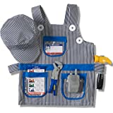Prextex Child's Halloween Conductor Role Play Dress Up Train Engineer Costume Set and Accessories