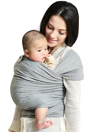 Amazon Com Baby Wrap Carrier Baby Sling Dad And Mom Baby Body