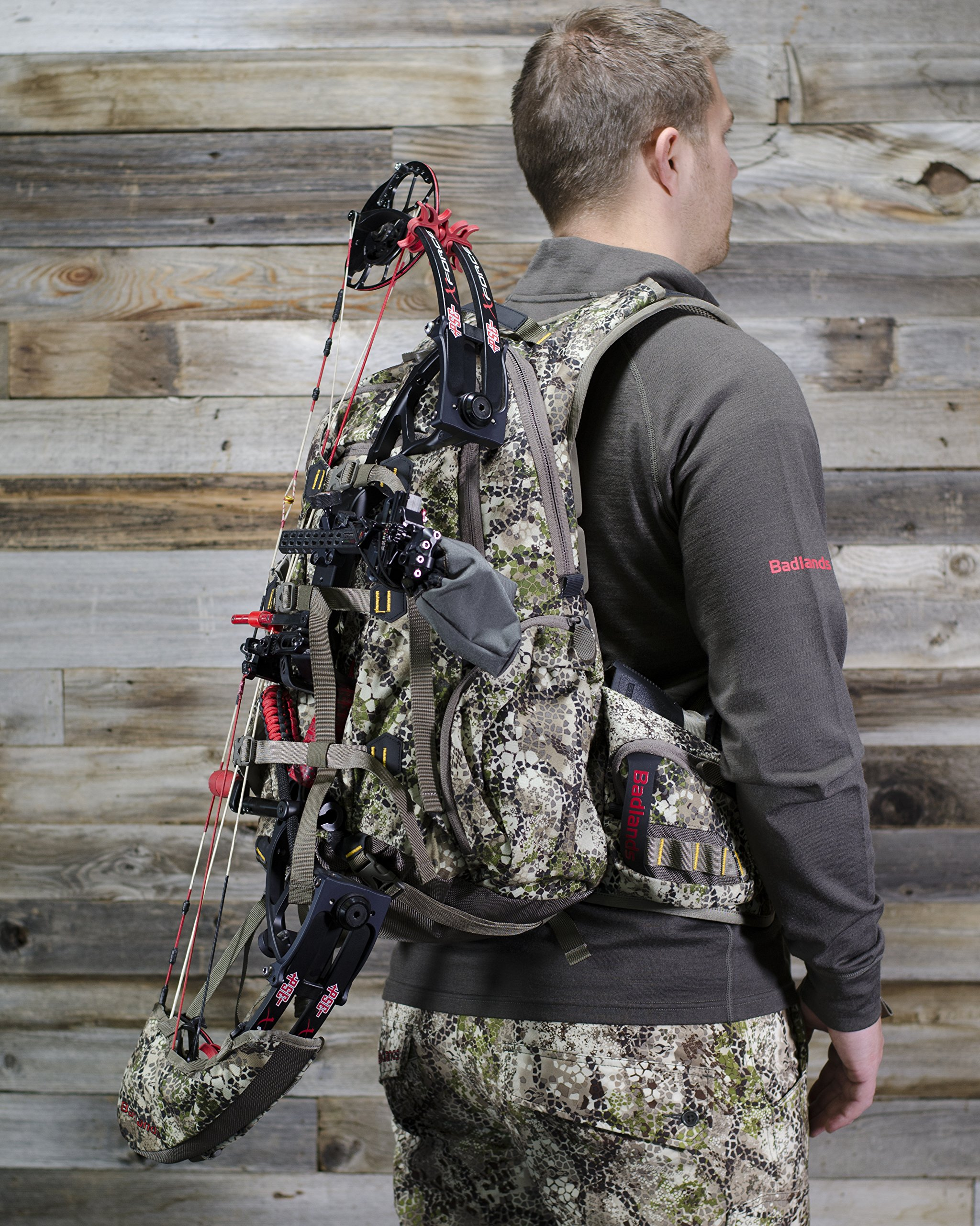 Badlands Superday Camouflage Hunting Backpack - Bow, Rifle, and Pistol Compatible, Approach Camo by Badlands (Image #7)