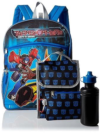 Transformers KAC4085731 - Mochila Infantil niño, Azul (Azul) - KAC4085653: Amazon.es: Equipaje