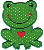 PatchMommy Ecusson Brode Patch Thermocollant, Grenouille Garcon - Enfants Bebe
