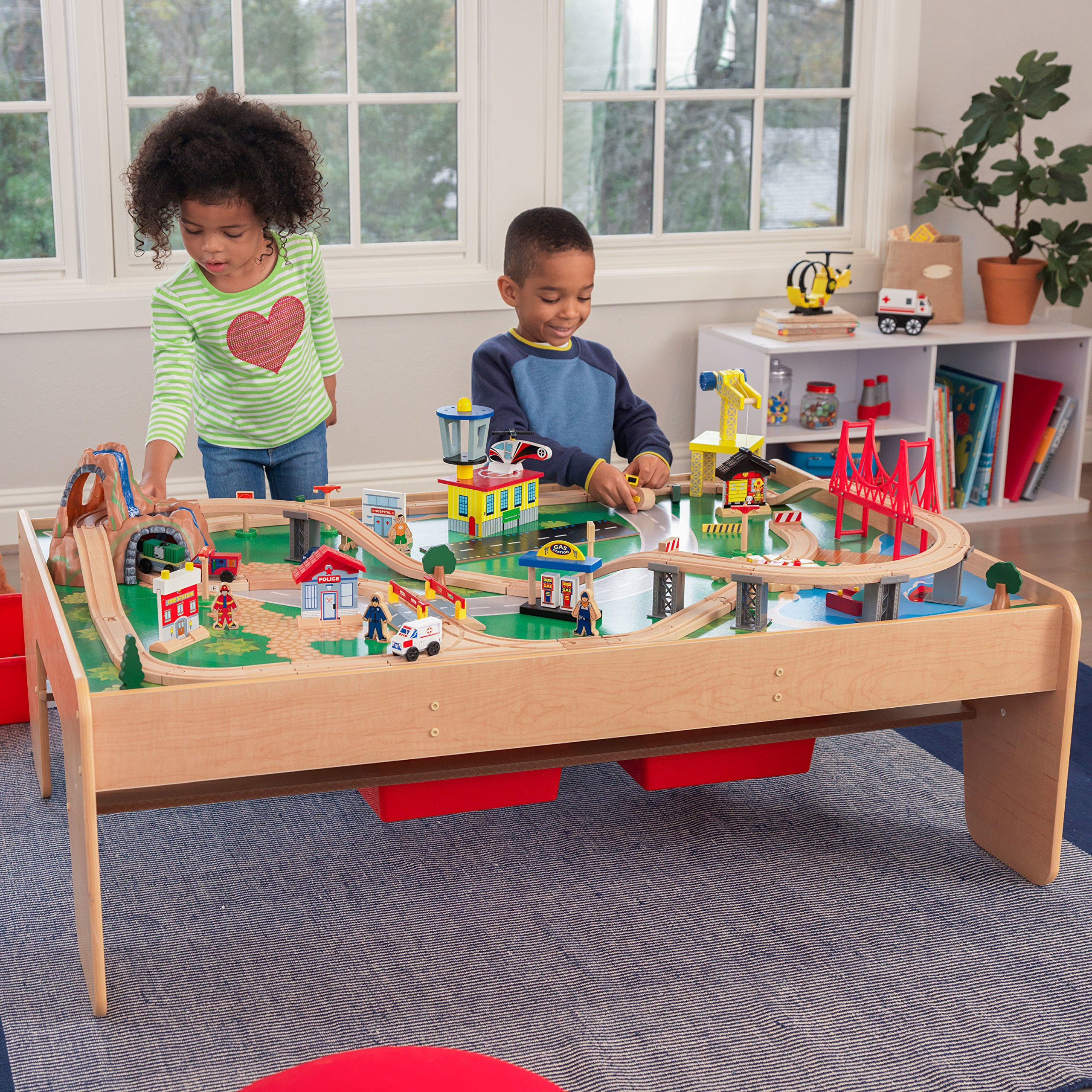 KidKraft Waterfall Mountain Train Set and Table by KidKraft (Image #4)