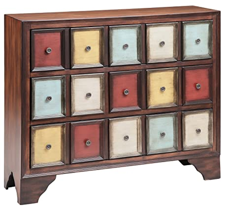 Great Stein World Furniture Brody Accent Chest, Multi Colored