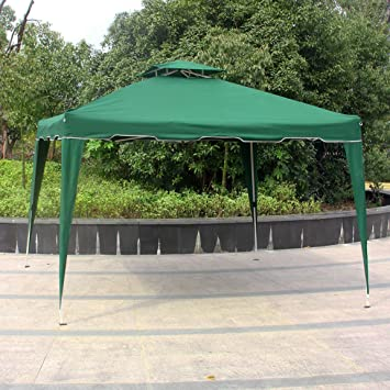 Cloud Mountain 10u0027 x 10u0027 Garden Pop Up Canopy Gazebo Patio Outdoor Double Roof & Amazon.com : Cloud Mountain 10u0027 x 10u0027 Garden Pop Up Canopy Gazebo ...
