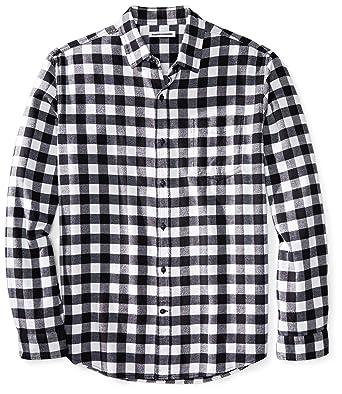 Zara Checked Shirt Black White