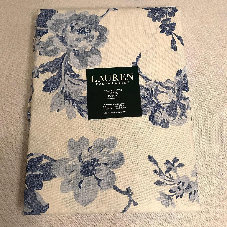 Ralph Lauren Table Linens Part - 28: Amazon.com: Lauren By Ralph Lauren Mireille Navy Blue Floral Flower Cotton Table  Linens (70 IN Round Tablecloth): Home U0026 Kitchen