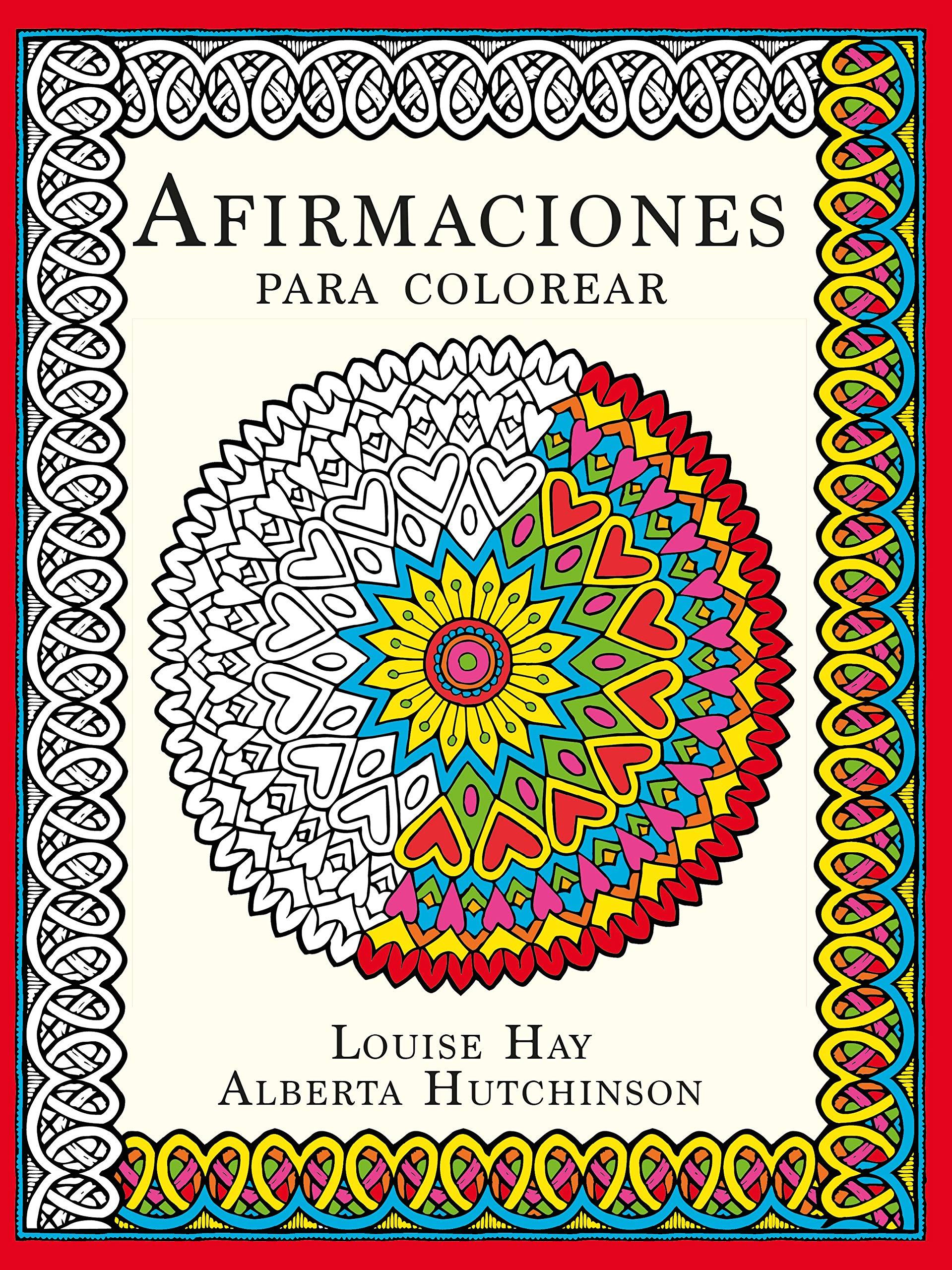 Afirmaciones para colorear (Terapias Mandalas): Amazon.es ...