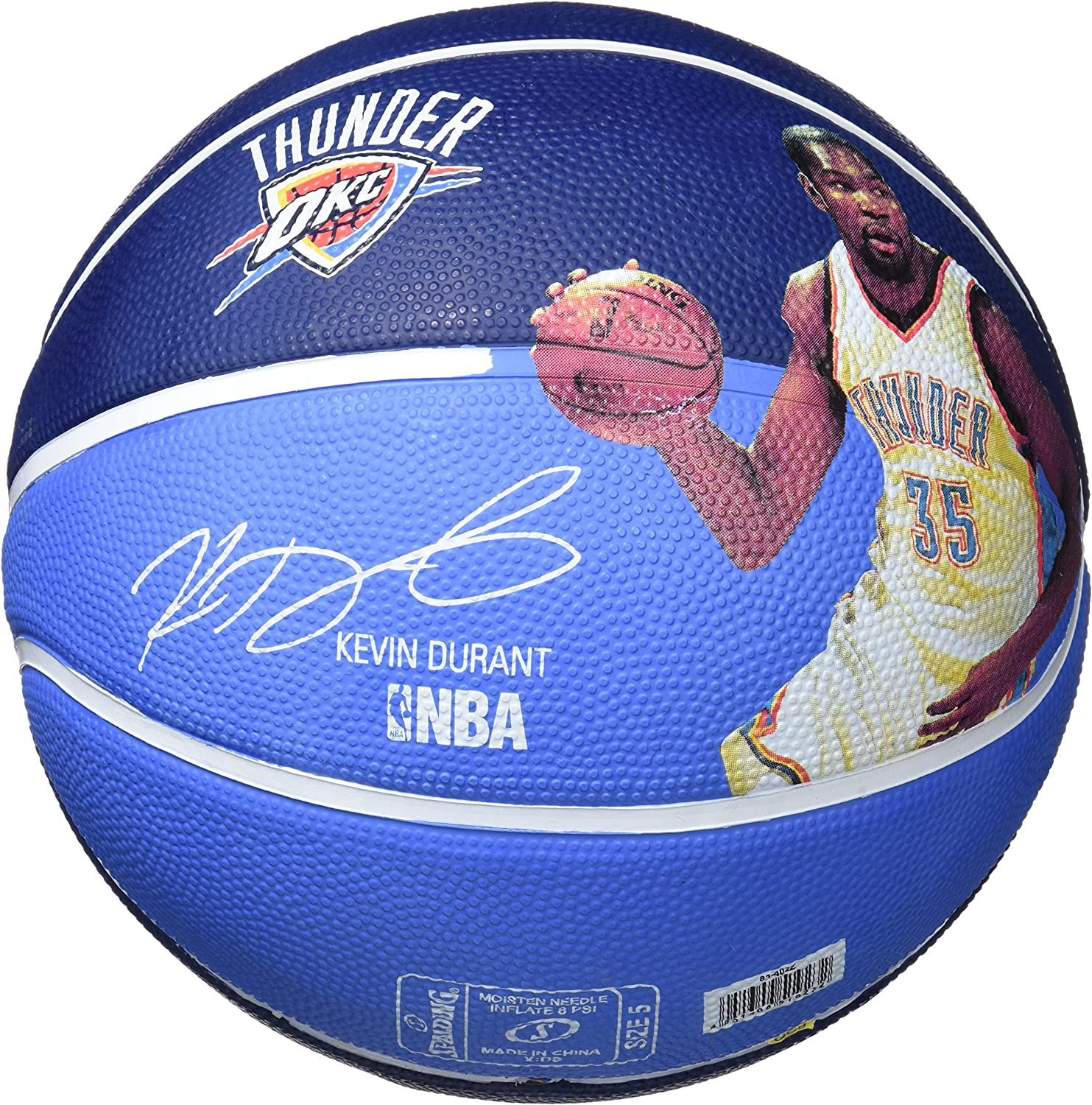 Spalding NBA Player Kevin Durant SZ. Balones de Baloncesto: Amazon ...
