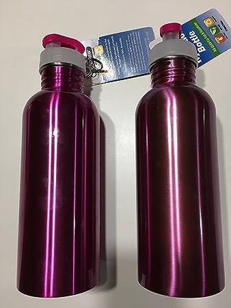 Amazon.com: SubZero (25 oz) 750 ml botella de agua de acero ...