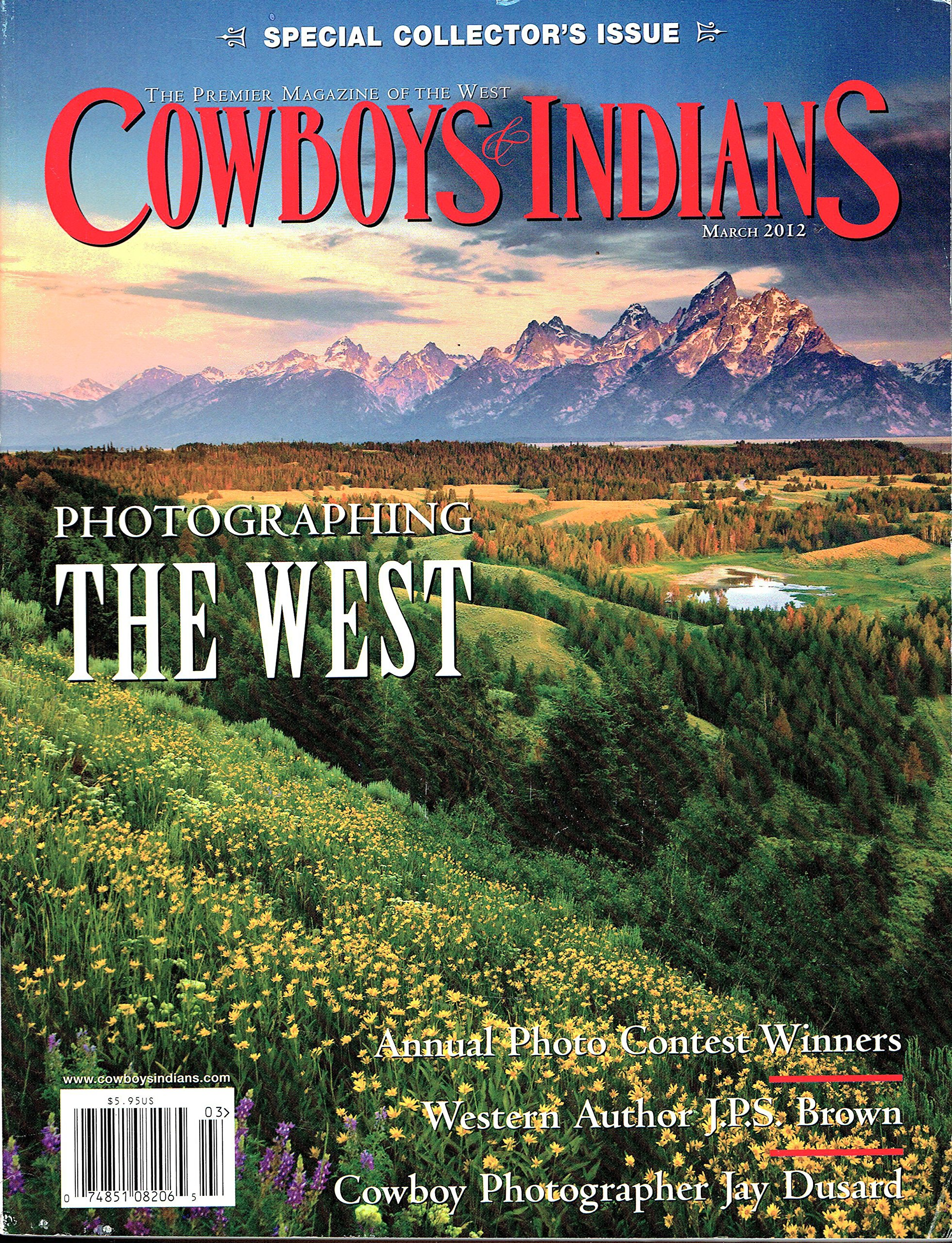 Cowboys & Indians March 2012 (Volume 20 # 2) ebook