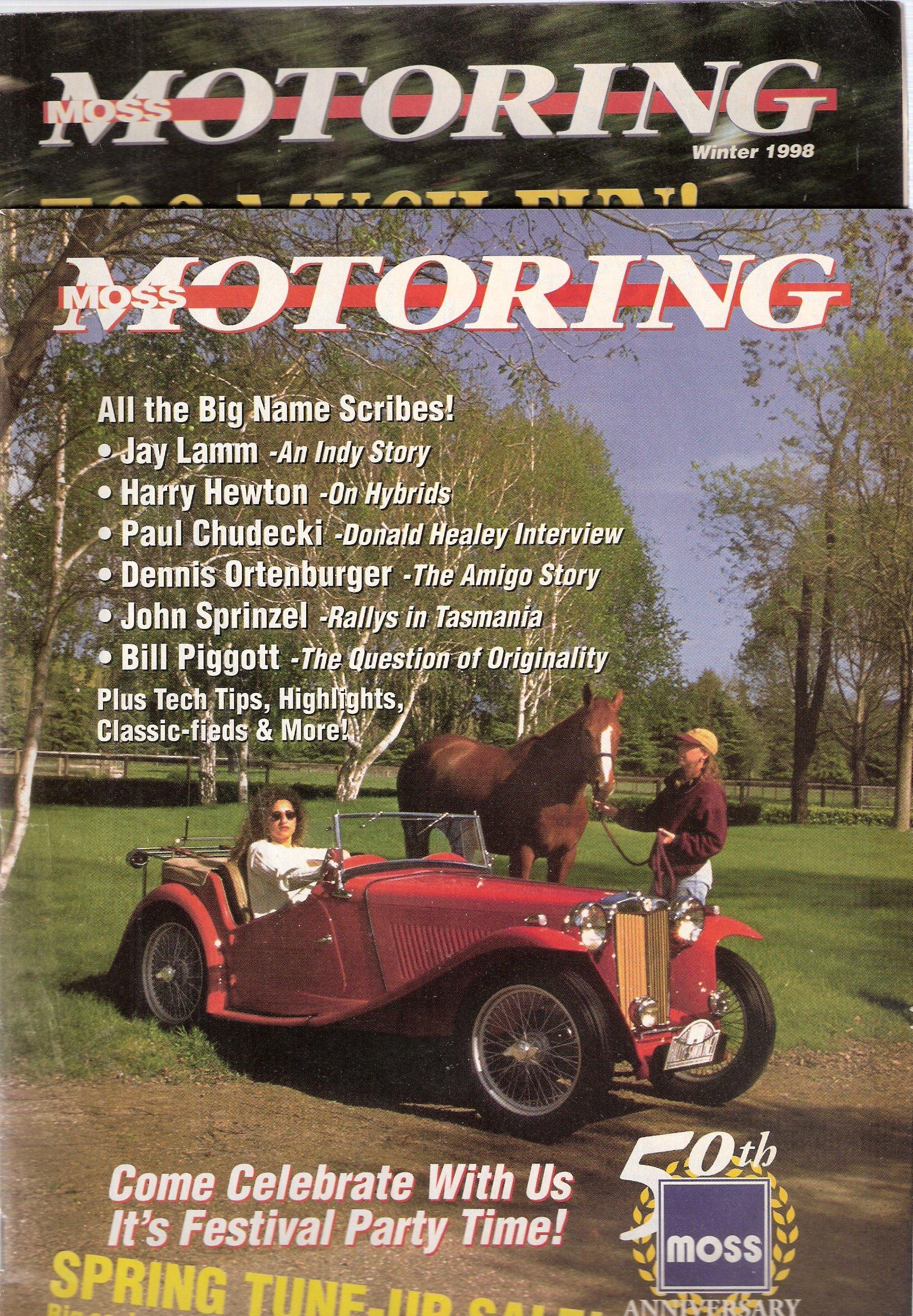 Moss Motoring 1998 (Vol XVII  No  II and Vol  XVII No  IV