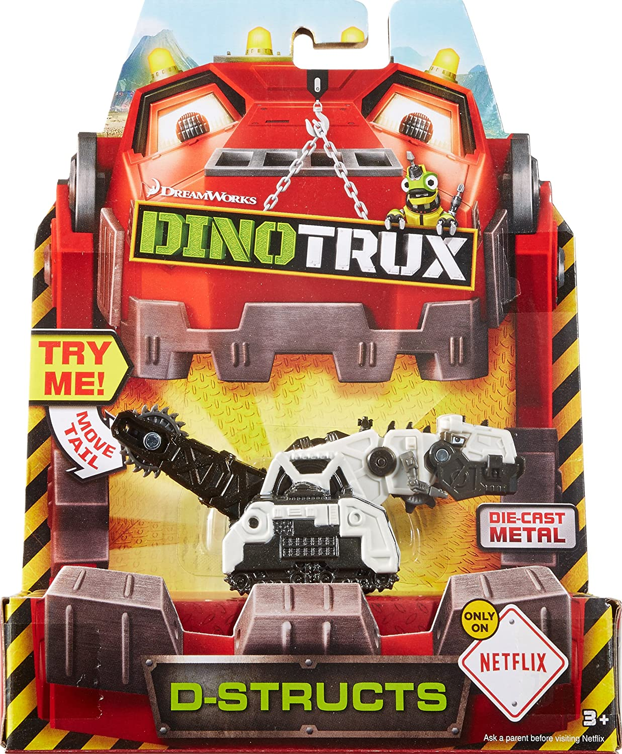 Dinotrux Diecast D-Structs Vehicle by Mattel: Amazon.es: Juguetes y juegos