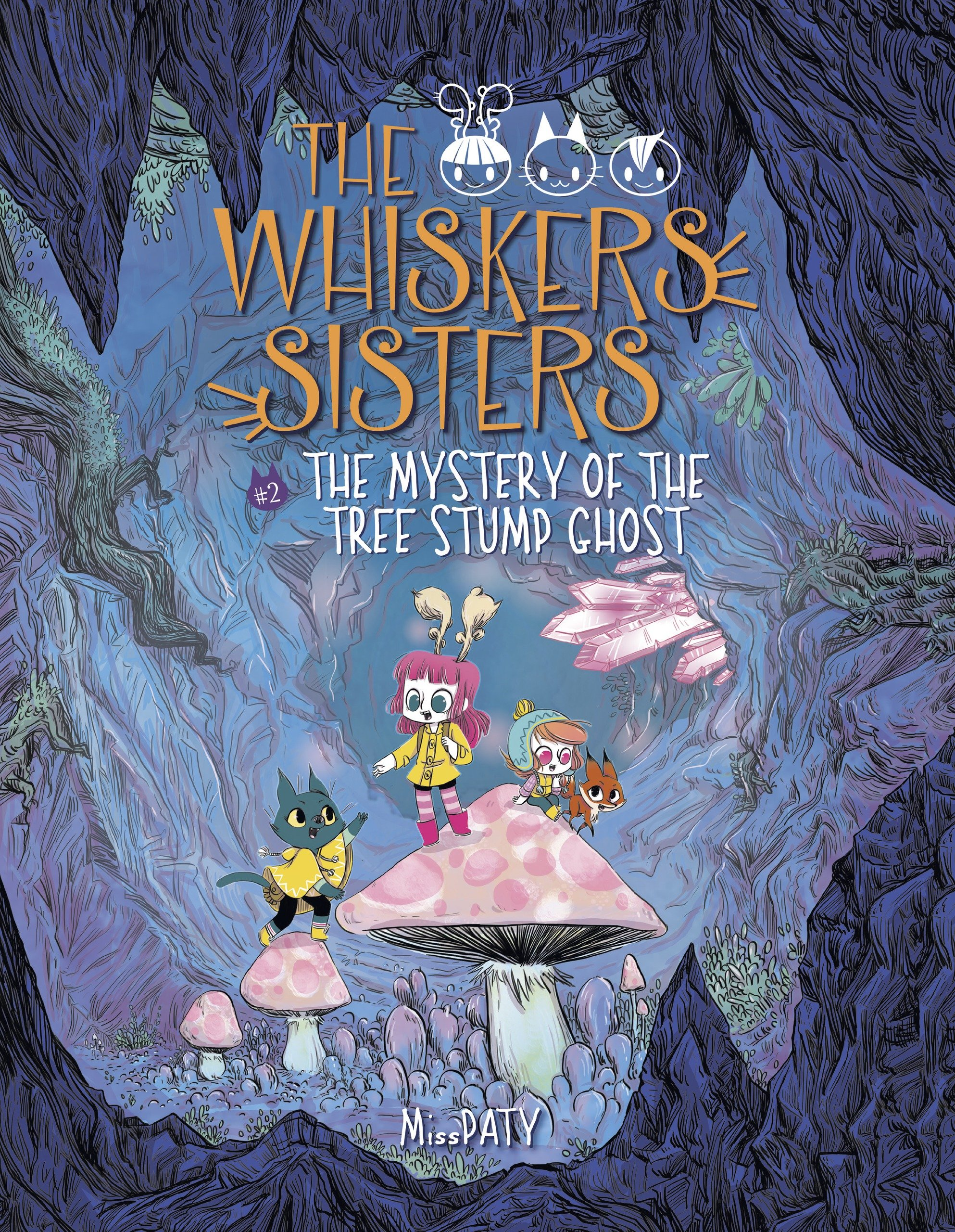 Read Online The Whiskers Sisters 2: The Mystery of the Tree Stump Ghost pdf epub