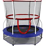Skywalker SBT60 Trampolines 60 In. Round Seaside Adventure Bouncer with Enclosure