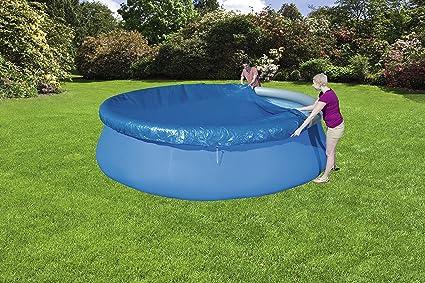 Bestway 58035 - Cobertor Protector para Piscinas Fast Set de 457 cm de diámetro: Amazon.es: Jardín