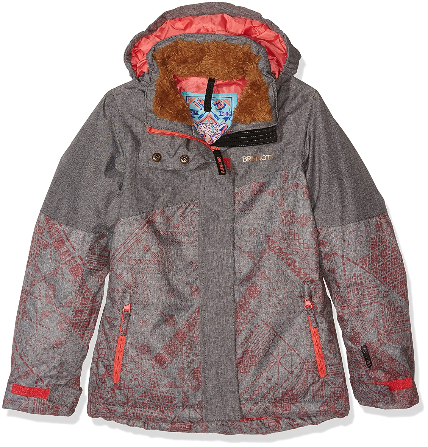 Brunotti Jari Neala Jr Bambina Girls Giacca, Bambina, Jarineala JR Girls Jacket, Shine, 152 BRUOT|#Brunotti 162242526