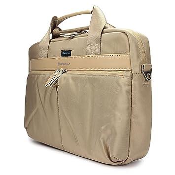 Urcover® Bolsa Laptop 14,1 Pulgadas Folder Almacenamiento con Cierre Lazo Unisex Diseño Clasico Cartera para Documentos A4, Libros, Tablets, ...