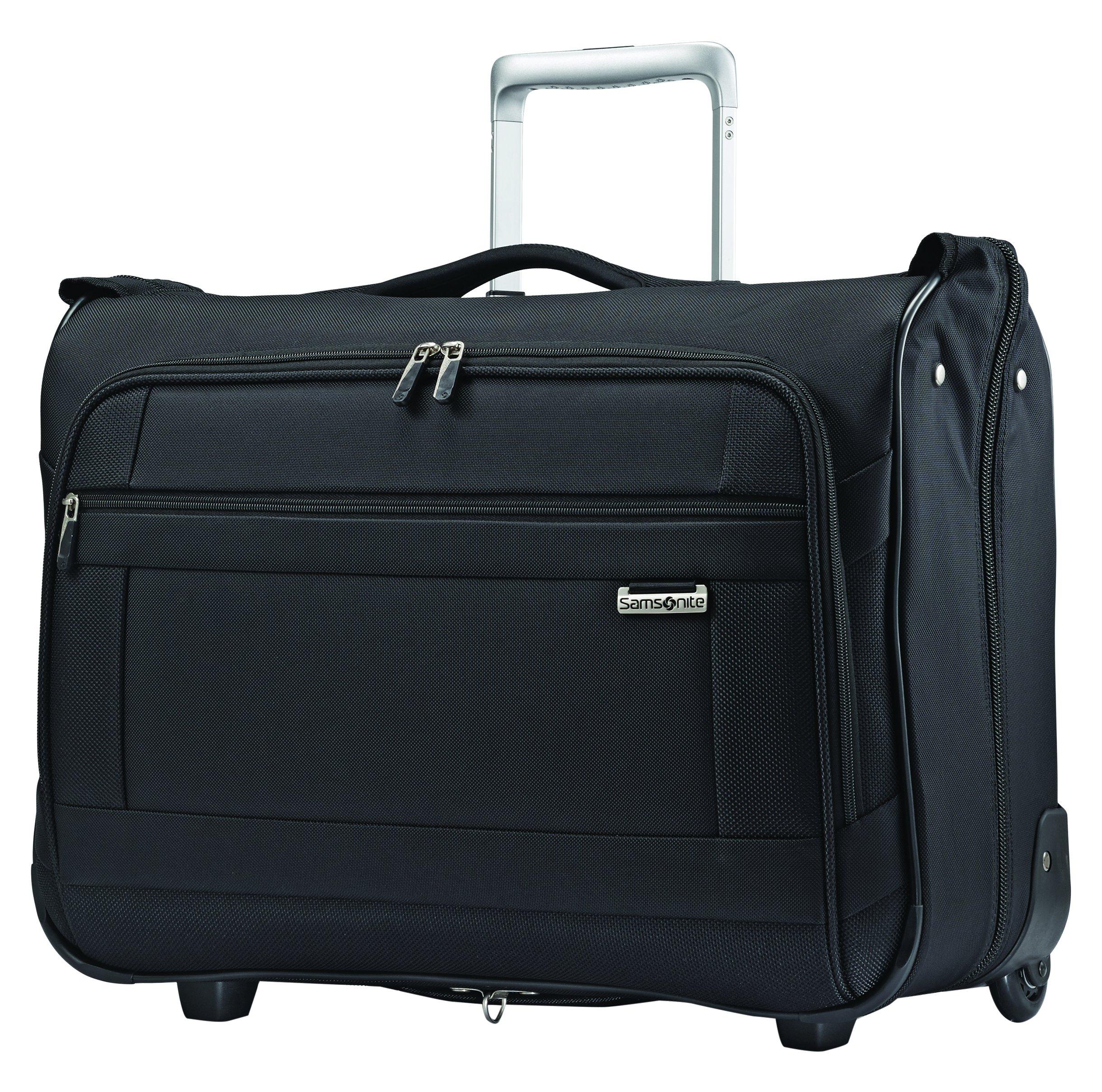Samsonite Solyte Softside Carry-on Wheeled Garment Bag, Black