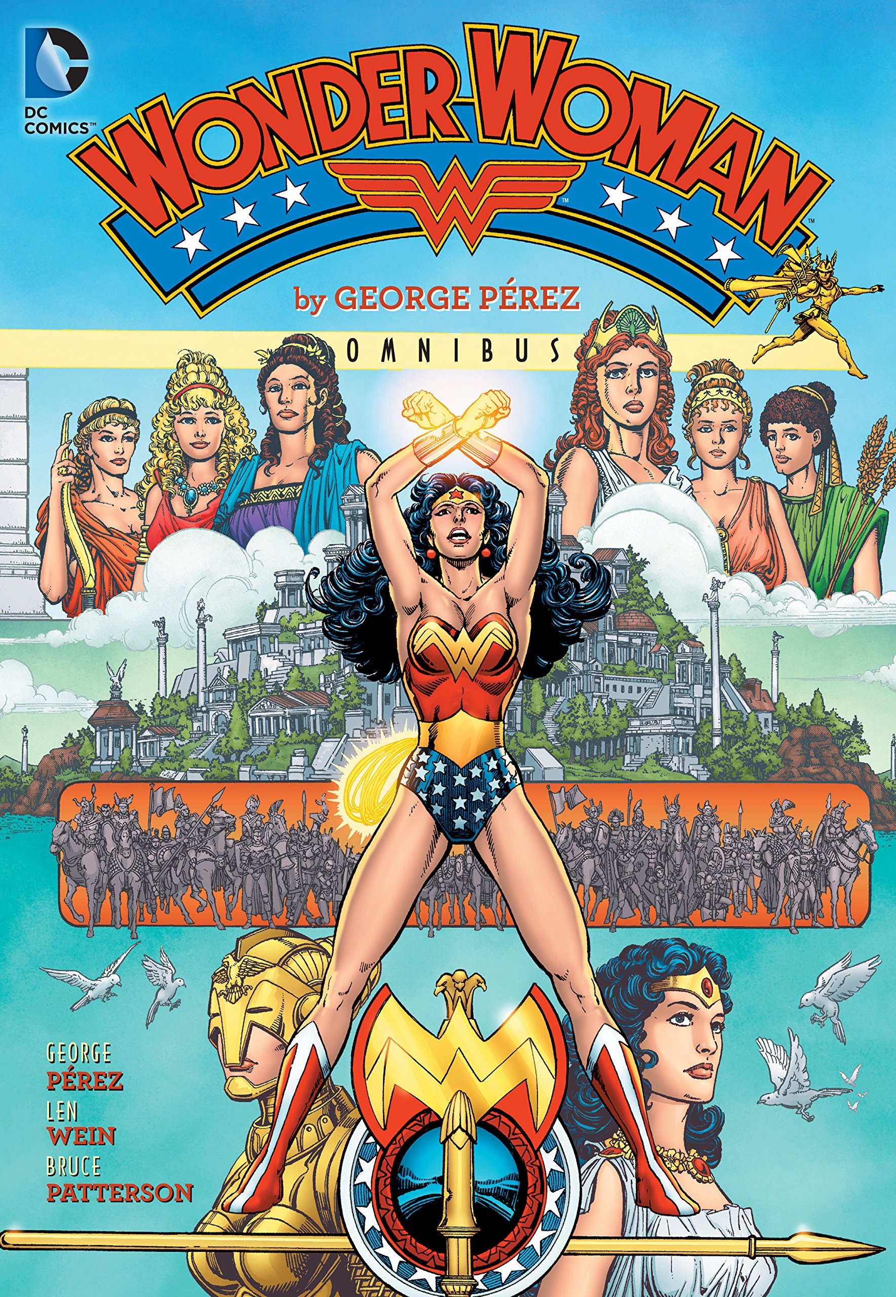 Wonder Woman by George Perez Omnibus Vol. 1 by DC Comics