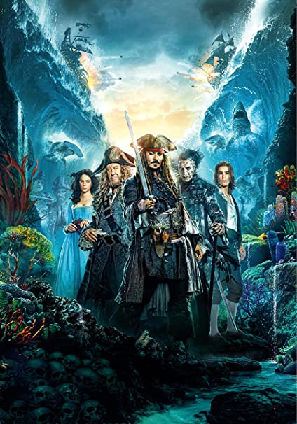 0b6cd83325b9e Amazon.com : Pirates of the Caribbean: Dead Men Tell No Tales Movie Poster  Limited Print Photo Johnny Depp Javier Bardem Size 22x28 #2 : Everything  Else