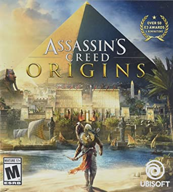 Amazon Com Assassin S Creed Origins Playstation 4 Standard Edition Video Games