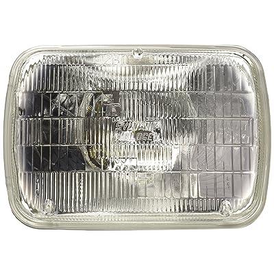 SYLVANIA H6054 Basic Halogen Sealed Beam Headlight 142x200, (Contains 1 Bulb): Automotive