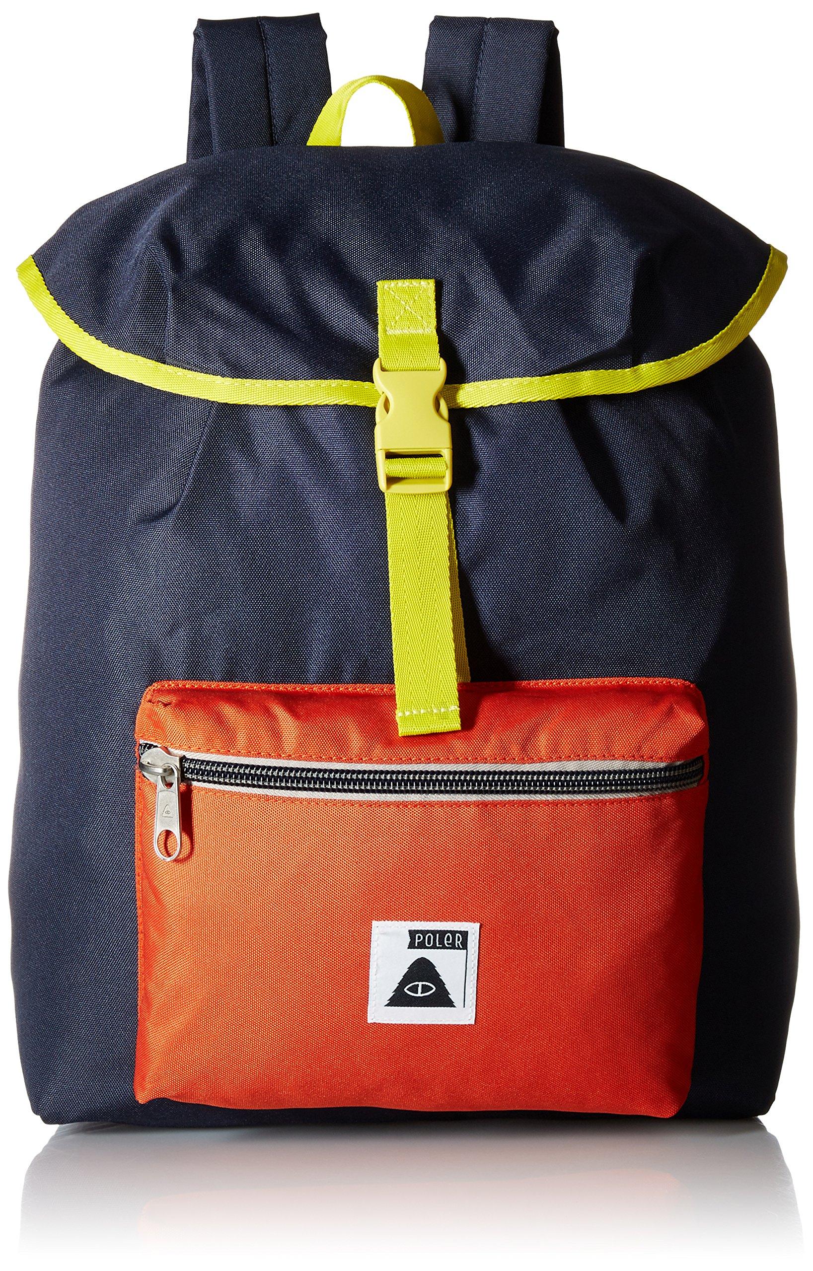 Poler Men's Field Pack Backpack, Navy, One Size