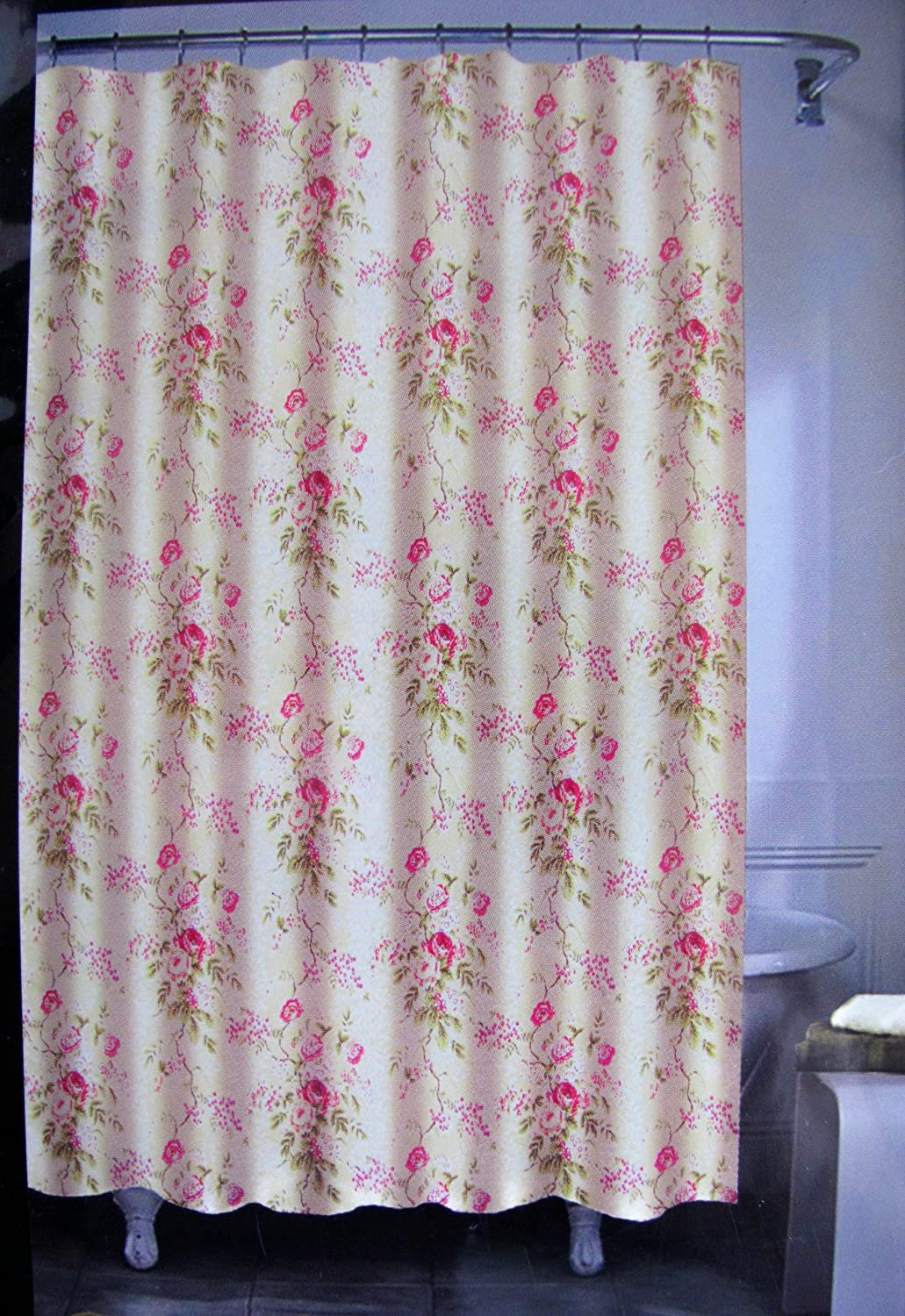 shower walmart roses com curtain ip curtains prelude