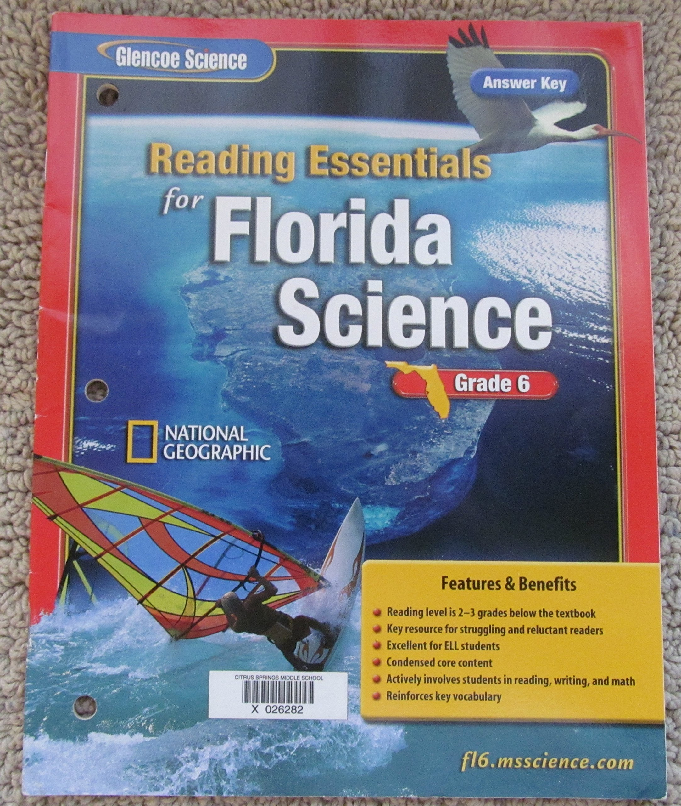 Glencoe Science: Reading Essentials for Florida Science