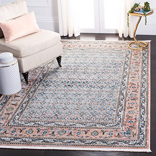 Safavieh Shivan Collection SHV722M Oriental Distressed Non-Shedding Stain Resistant Living Room Bedroom Area Rug