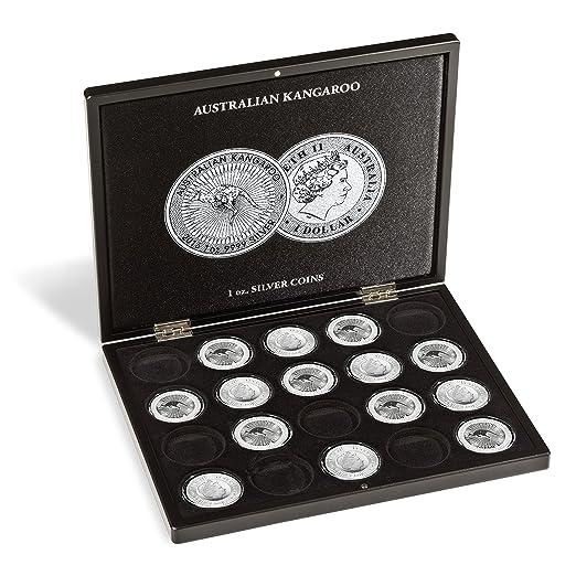 Estuche para 20 monedas de plata Australian Kangaroo en ...