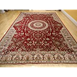 Amazon Com Large 8x11 Area Rug For Living Room Red 8x10