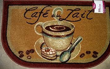 Cafeu0027 Au Lait Coffee 20 X 34 Slice Kitchen Rug (Nice Quality)