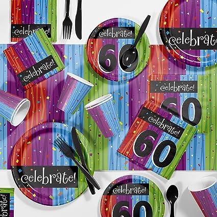 Amazon.com: Milestone celebraciones 60th fiesta de ...