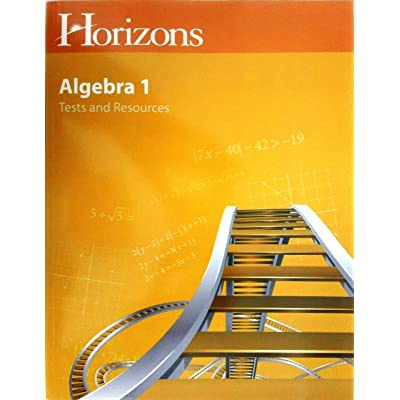 Horizons Algebra I Student Tests & Resources Book: Alpha Omega: Toys & Games
