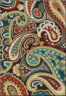 "product image for Orian Rugs Veranda Paisley Rug Rug Size: 7'8"" x 10'10"""