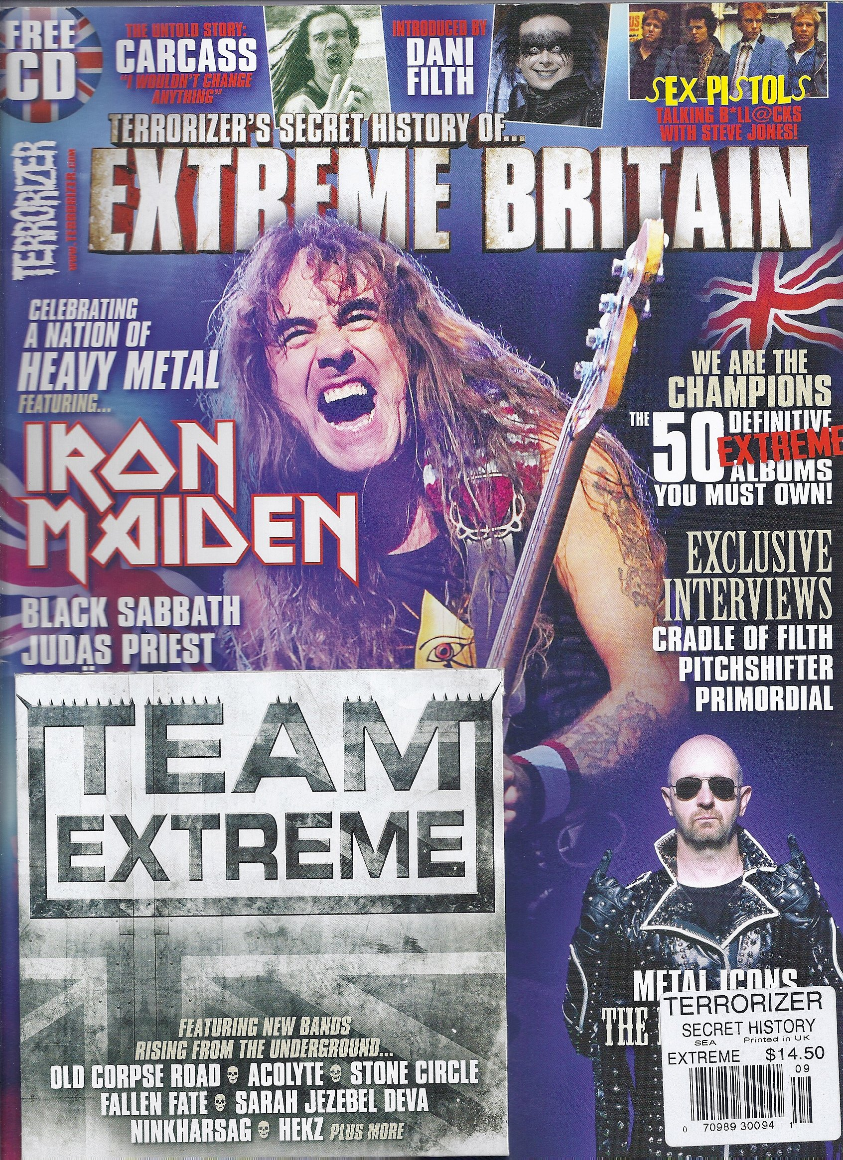 Read Online Terrorizer`s Secret History of Extreme Britain (September 2012,Terrorizer Magazine,Iron Maiden) pdf epub
