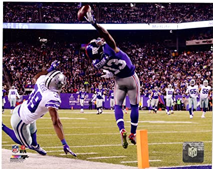 fcc3ab137acb0 Amazon.com: New York Giants Odell Beckham Jr. Makes The Catch of a ...