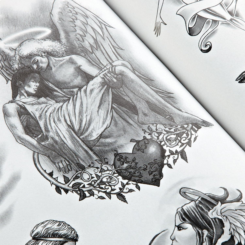 Livre Flash de Tatouage - Anges et Ailles: Amazon.es: Hogar