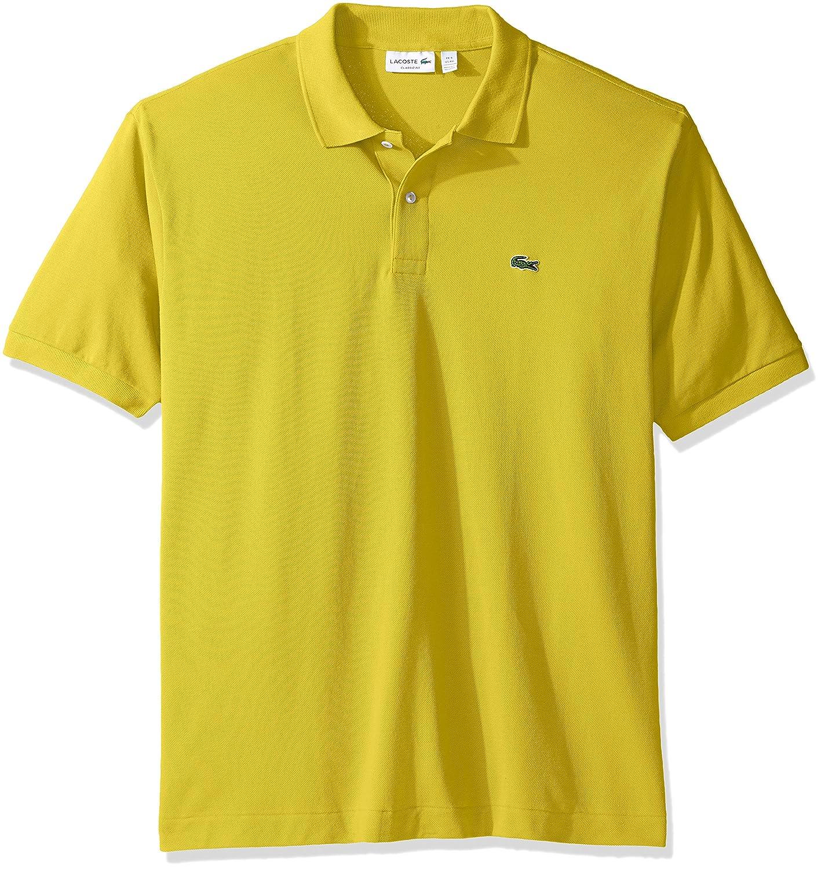 Lacoste ラコステMen's L-1212,半袖 鹿の子 ポロシャツ(並行輸入品) B01N1WRFGU 5L|Daphne Yellow Daphne Yellow 5L