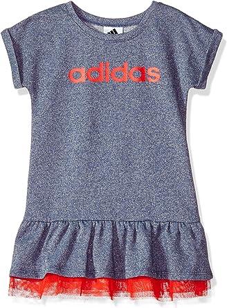 adidas Girls' Active Polo Dress, Noble Indigo Sparkle HTR Adi, 6X:  Amazon.co.uk: Clothing