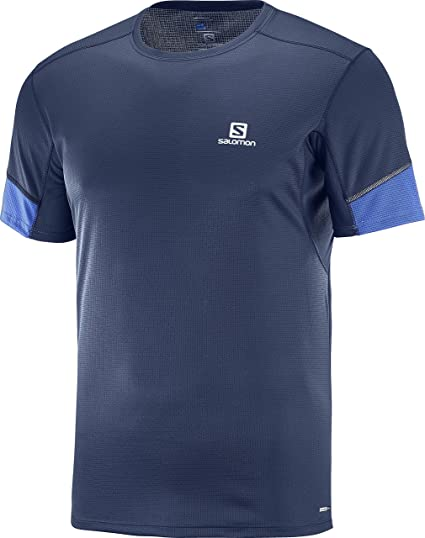 81e7498592 Amazon.com : Salomon Men's Agile Ss Tee : Clothing