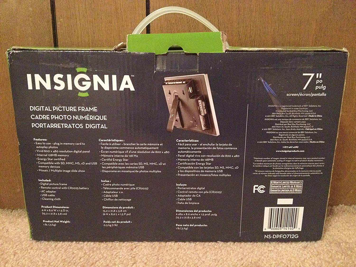 Old Fashioned Insignia 8 Digital Picture Frame Ensign - Frame Photo ...