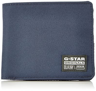 G-Star Originals Wallet - Cartera unisex, color azul (indigo 857),