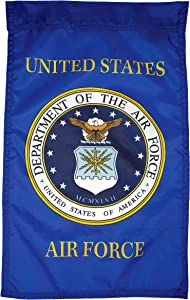 FlagSource U.S. Air Force Nylon Garden Flag, Made in The USA, 18x12