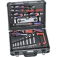 KWB 370780 alet çantası (iddialı ev kullanımı için ideal, sağlam alüminyum çantada), 370760