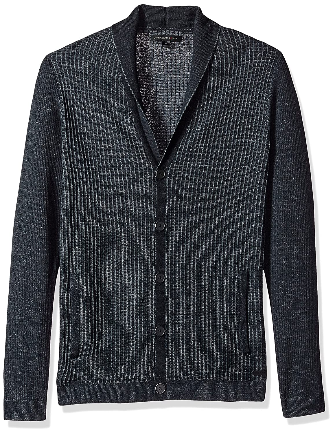 John Varvatos Men's Shawl Collar Cardigan Y1627T3BAPP9B